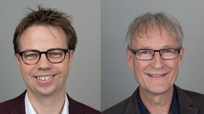 Fabian Cortesi und Hans Jörg Luchsinger